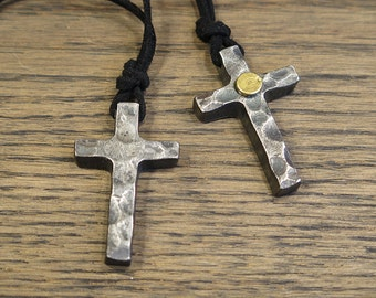 Cross Necklace | Forged