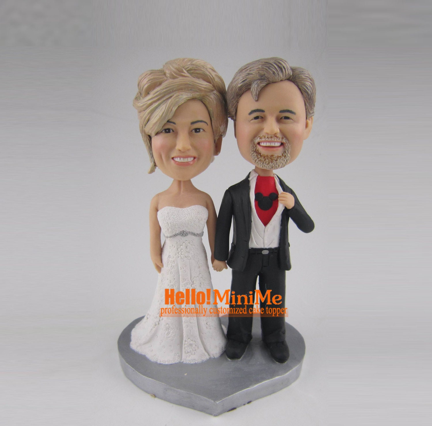 personalized bobblehead wedding cake toppers wedding topper bobblehead custom cake topper bobble 6475