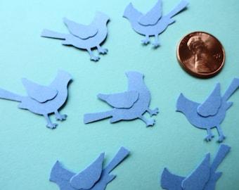 Mini  Bird Die Cuts Set of 20 Confetti Card Toppers Embellishments