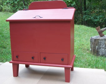 Pet Pantry, Large Breed, with Two Large Drawers, Pet Food Storage