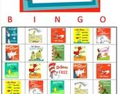 Dr. Seuss Bingo Instant Download