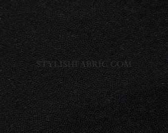 Swimwear Fabric Black/Black n Fog Foil Tricot Knit Fabric for Swimwear Activewear Dancewearl and Sportswear - 1 Yard Style 7002