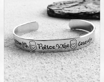 "Shop ""police girlfriend"" in Bracelets"