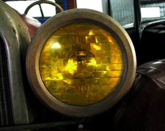 Items Similar To Vintage Headlight Head Lamp Sealed Beam