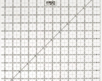 """OLFA 12 1/2"""" Square Frosted Acrylic Ruler  (QR-12S)"""