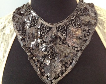 1930s sequined collar