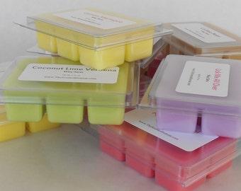 Wax Tarts - 24 x 3 oz Clamshell Wax Melts - Breakaway Cube Melts