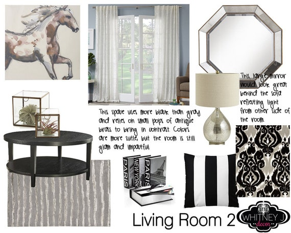 Custom Home Decor Design Board And Shopping List By Whitneyjdecor