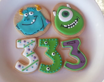 Monster Inc Cookies