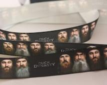 1 yards of Duck Dynasty Grosgrain Ribbon 1 Inch