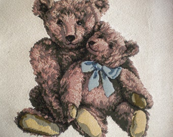 Teddy Bear Pillow Panel Tapestry Fabric 14 Quot X 15