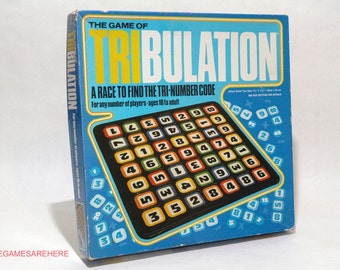 Tribulation Number Game from Whitman 1981 (read description)