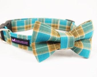 Dog Collar Bow Tie Set Charlie