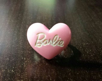Pink Barbie Ring