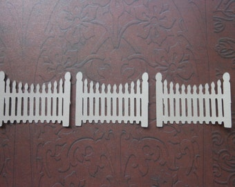 Die Cut Picket Fence -2c
