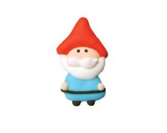 Who can resist these adorable Garden Gnome Royal Icing Decorations