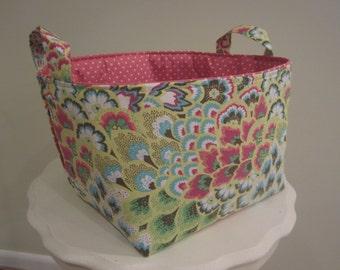 Fabric Bin - Organizer - Diaper Caddy