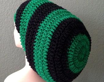 Unisex Crochet Rasta Hat Dreadlocks Hat Bob Marley Hat
