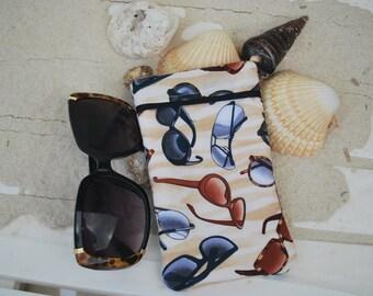 Designer Sunglass Print Eyeglass/Sunglass Case