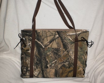 real tree forest diaper bag