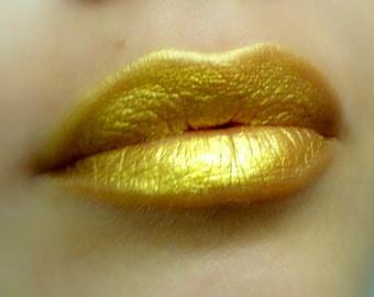 Illusion - Yellow Gold Lipstick - Natural Gluten Free Fresh Handmade