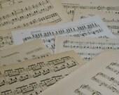 15 Sheets of Vintage Antique Sheet Music