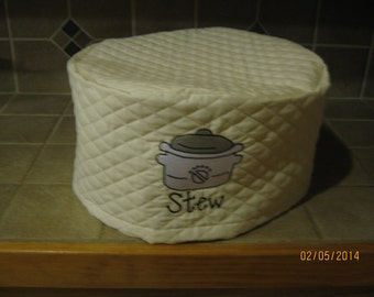 Crockpot Appliance Cover for Round 5-6 quart crockpot