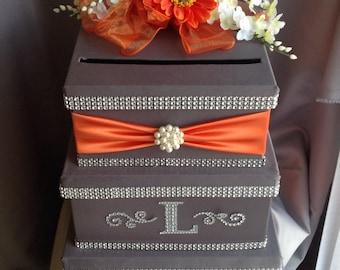 Card box, wedding card box, envelope holder, elegant card box