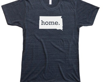 Homeland Tees Men's South Dakota Home T-Shirt