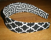 Reversible Cotton Headband Completely Comfortable and Washable