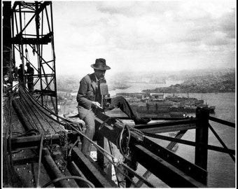 Sydney Harbor Bridge Photographer 1929/30. Print