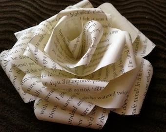 Book Paper Rose