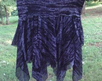Handmade Layered Pixie Flow Skirt