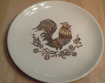 On Sale Taylor Smith Taylor 6.5 inch Vintage Country Rooster Replacement Salad Plate