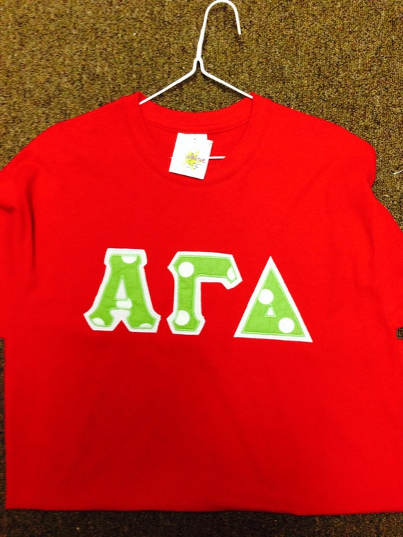 alpha gamma delta red letter shirt with by With alpha gamma delta letter shirts