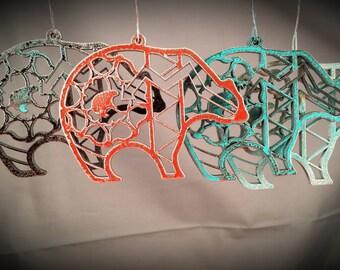 Zuni Bear Southwest Ornament