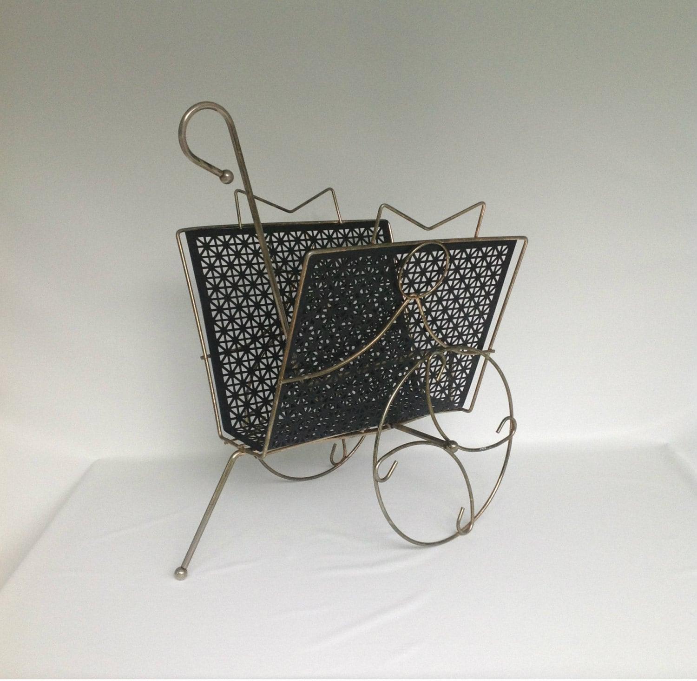 Vintage Metal Cart: Kitchen & Dining