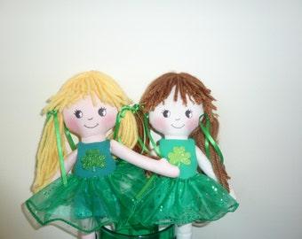 Irish Dancer Doll Pattern