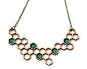 double honey necklace