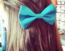 Sparkly cheer bow tie bow