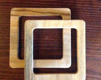 Square purse handles in different colors