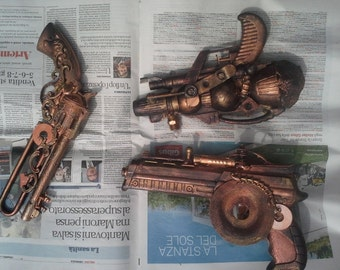 Custom Made Steampunk Gun