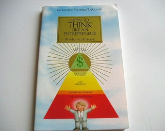 Vintage Book|How to Think Like an Entrepreneur|Michael B. Shane|1994|Starting Your Own Business|Creating Opportunities