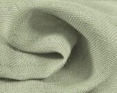 Burlap By The Yard, Sage Green Burlap, Jute Burlap Fabric, Decorative Fabric, French Farmhouse Fabric. (1) Yard 36'' Length, 46'' Width