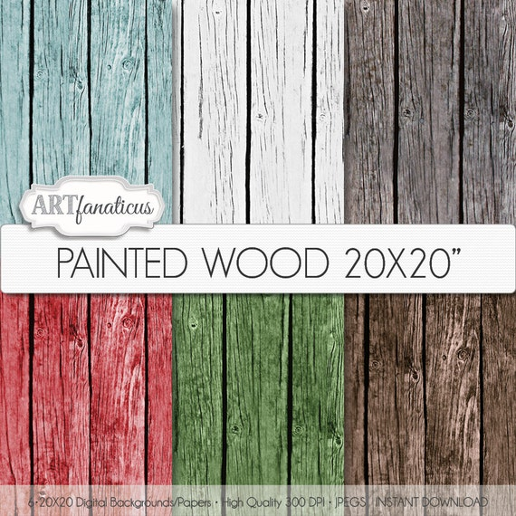"""Items similar to Wood Background Papers """"PAINTED WOOD ..."""