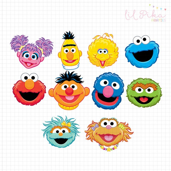 Handy image regarding printable pictures of sesame street characters