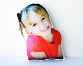 Custom Human Photo Pillow, People Pillow, Memory Pillow, Comforting Gift, Moving Away, Military Deployment, Valentine's Day