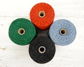 7 ply cord Sampler - 3 lots of 3 yards choose your own colour Irish waxed linen cord 7 ply - 7ply Sampler