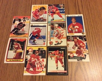 25 Calgary Flames Hockey Cards