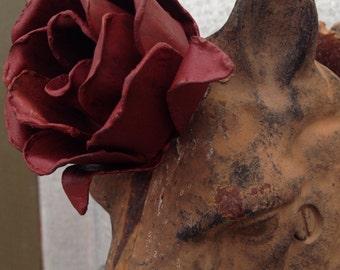 Decorative Metal Rose Magnet